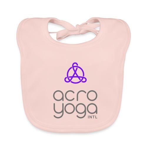 AcroYoga International Logo - Organic Baby Bibs