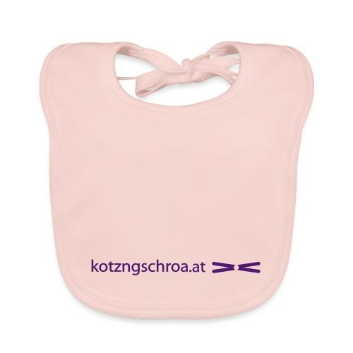 kotzngschroaat motiv - Baby Bio-Lätzchen