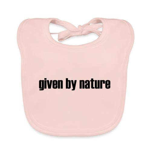 given by nature - Baby Organic Bib