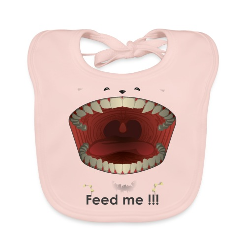 Feed me - Bavoir bio Bébé