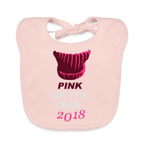 pink of the year 2018 pussyhat - Baby Bio-Lätzchen