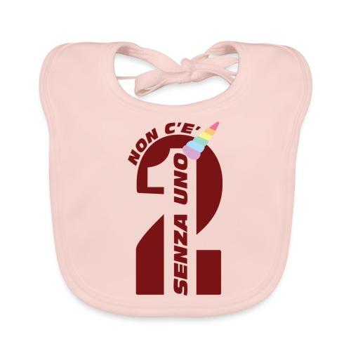 Logo nonceduesenzauno - Bavaglino ecologico per neonato