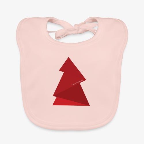 red triangles fir - Baby Organic Bib