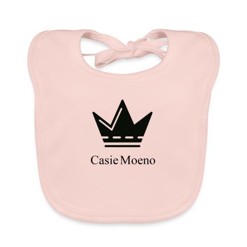 Casie Moeno button - Baby Organic Bib
