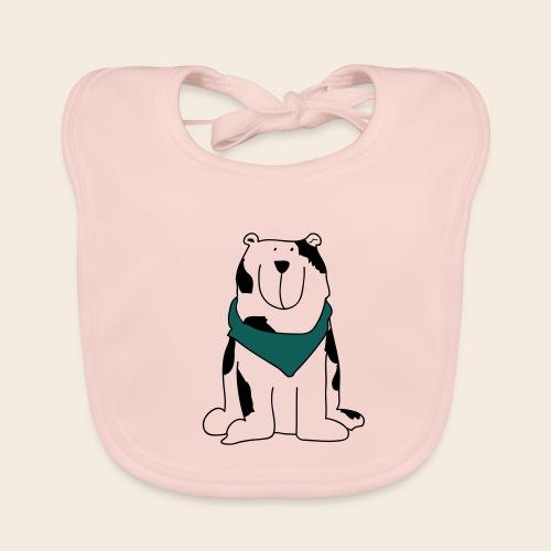 Gros chien mignon - Bavoir bio Bébé
