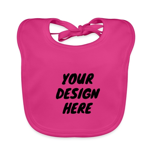 print file front 9 - Organic Baby Bibs