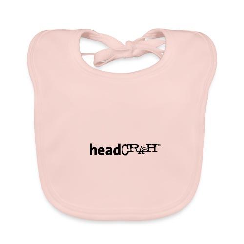 headCRASH Logo black - Baby Bio-Lätzchen