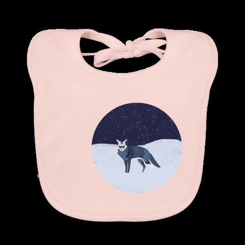 Blue fox - Vauvan ruokalappu