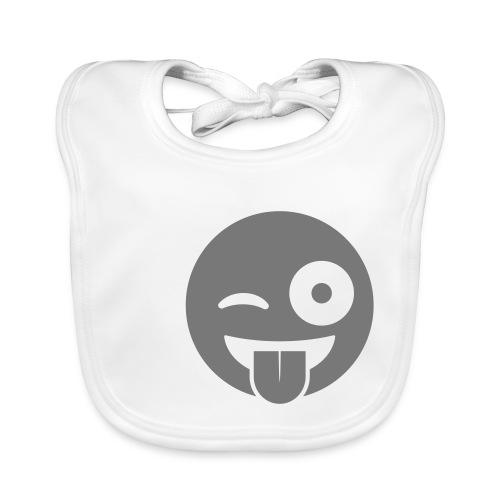 Emoji - Baby Bio-Lätzchen