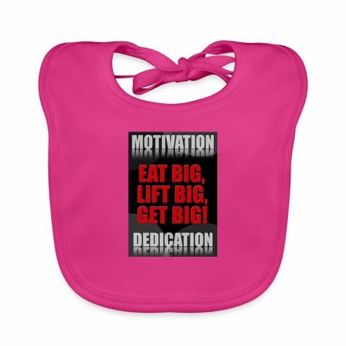 Motivation gym - Ekologisk babyhaklapp