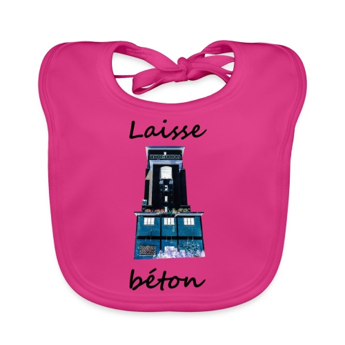 laisse_b--ton-png - Bavoir bio Bébé