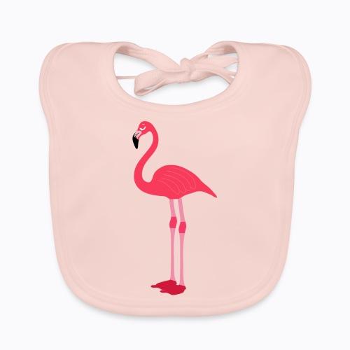 flamingo - Baby Organic Bib