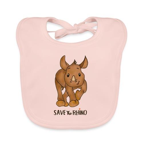 Save the Rhino - Baby Organic Bib