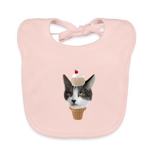 Ice Cream Cat - Baby Bio-Lätzchen