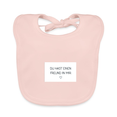 Freundschaft - Baby Bio-Lätzchen
