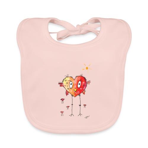 Happy heart - Baby Bio-Lätzchen