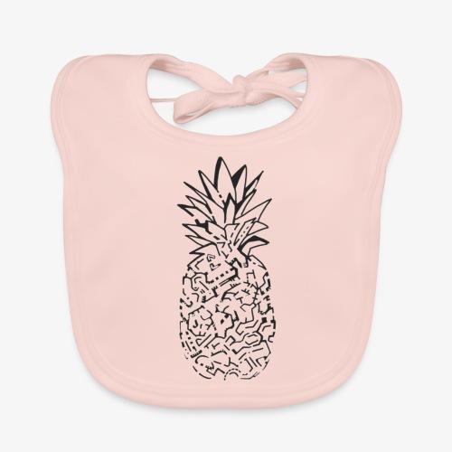 Pineapple graphik - Bavoir bio Bébé