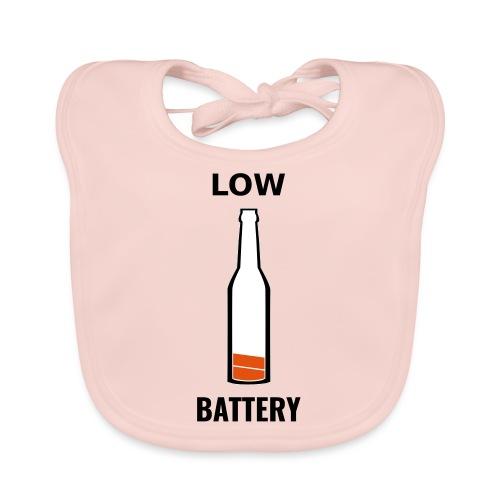 Beer Low Battery - Bavoir bio Bébé