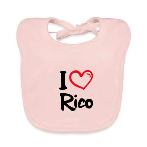 I LOVE RICO - Bio-slabbetje voor baby's
