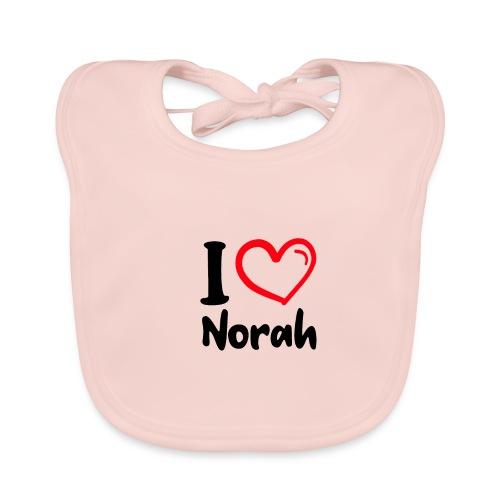 I LOVE NORAH - Bio-slabbetje voor baby's