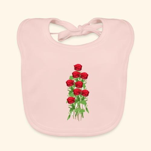 rote rosen - Baby Bio-Lätzchen