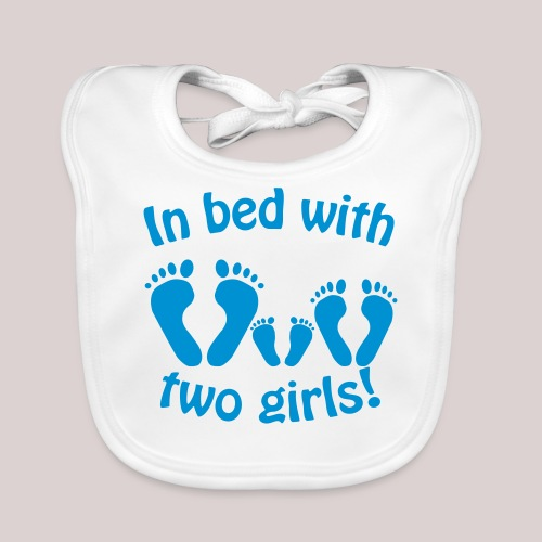 In bed with two girls daddy and his girls Papa - Baby Bio-Lätzchen