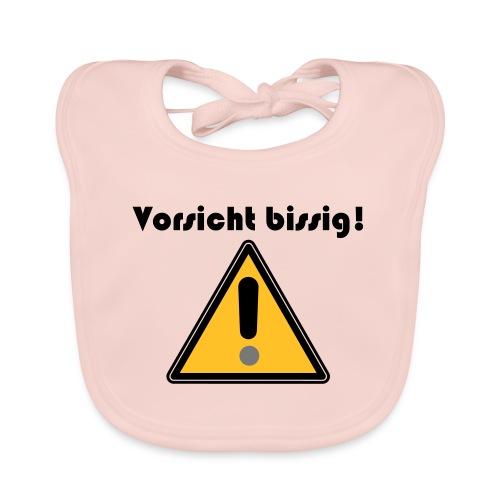 Vorsicht bissig - Baby Bio-Lätzchen