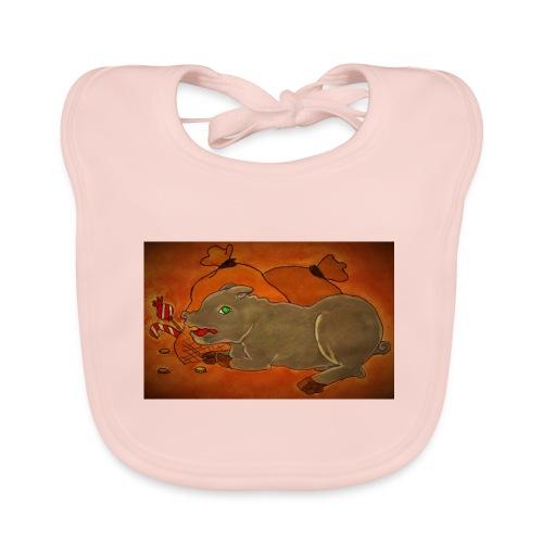 Ahneus - Vauvan luomuruokalappu