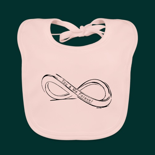 infinito you and me - Bavaglino ecologico per neonato