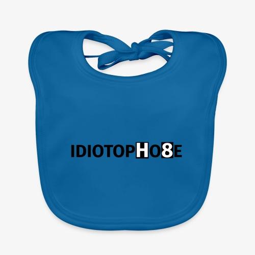 IDIOTOPHOBE1 - Organic Baby Bibs
