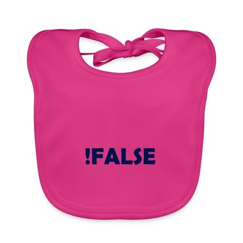 !False - Baby Bio-Lätzchen