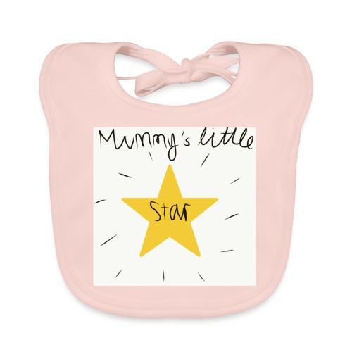 Star - Baby Organic Bib