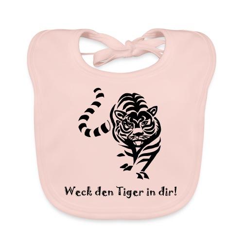 Weck den Tiger in dir! - Baby Bio-Lätzchen
