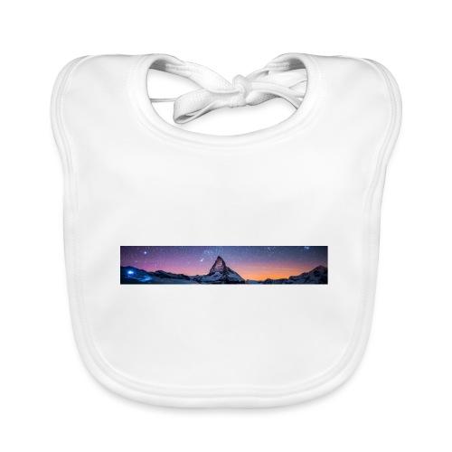 Mountain sky - Baby Bio-Lätzchen