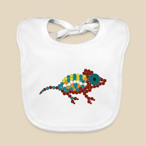 Chameleon - Bavoir bio Bébé