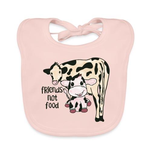 Friends not food - Baby Organic Bib