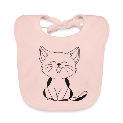 kitten - Bio-slabbetje voor baby's