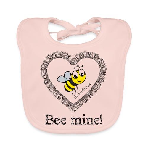 Bees3-1 save the bees | bee mine! - Baby Organic Bib