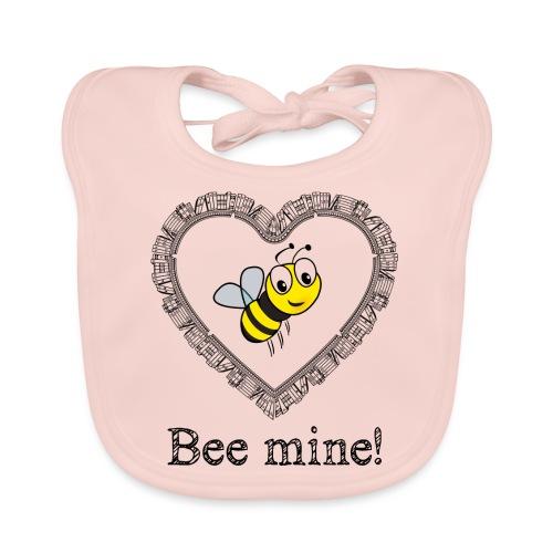 Bees3-2 save the bees | bee mine! - Baby Organic Bib