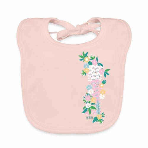 yuka cherry blossom2 - Baby Bio-Lätzchen