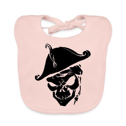 pirate skull - Bio-slabbetje voor baby's