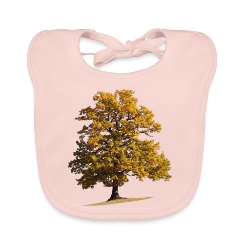 Herbst Herbstlaub Herbstbaum autumn - Baby Bio-Lätzchen