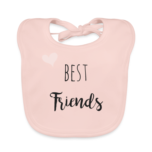 Best friends Forever - Partnerlook - Baby Bio-Lätzchen