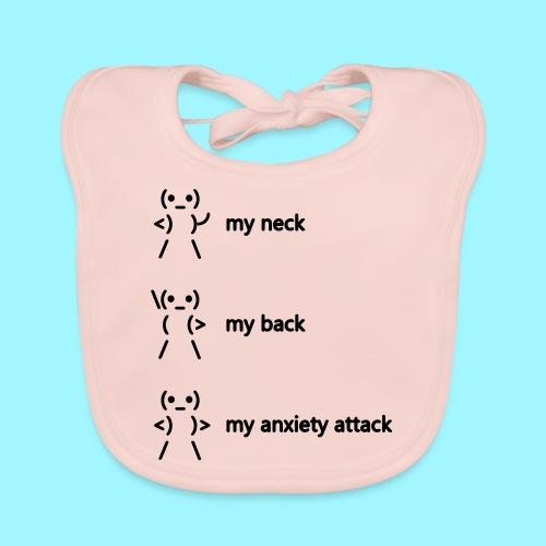 neck back anxiety attack - Baby Organic Bib