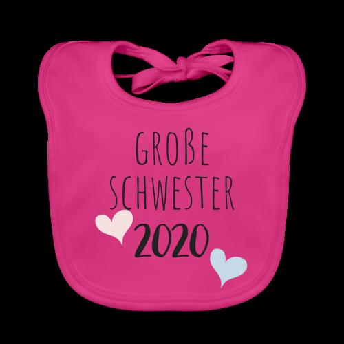 Große Schwester 2020 - Baby Bio-Lätzchen