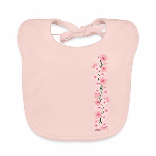 yuka cherry blossom - Baby Bio-Lätzchen
