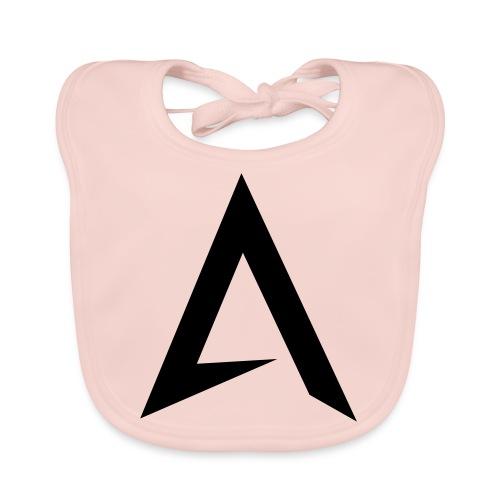 alpharock A logo - Organic Baby Bibs