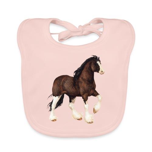 Shire Horse - Baby Bio-Lätzchen