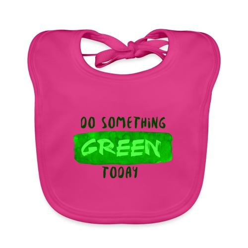 So Something Green Today - Bavoir bio Bébé