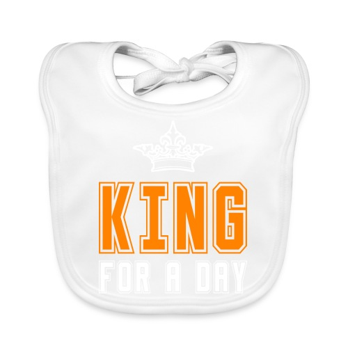 King for a day - Bio-slabbetje voor baby's